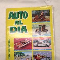 Coleccionismo Álbumes: AUTO AL DIA EDITORIAL BRUGUERA AÑO 1961 COLECCIÓN CULTURA, FALTAN 6 CROMOS. Lote 141387698