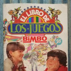 Coleccionismo Álbumes: ALBUM DE CROMOS EL LIBRO DE LOS JUEGOS (COMPLETO - 22 CROMOS (BIMBO 1979). Lote 141689746
