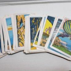 Coleccionismo Álbumes: COLECCIÓN CROMOS LA ISLA MISTERIOSA PUBLICIDAD BÁLSAMO AREPI EXTREMADAMENTE RARO Y UNICO. Lote 142089602
