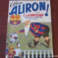 Coleccionismo Álbumes: ALBUM ALIRON DEL C F BARCELONA 1948 1949 COPA LATINA - NUÑEZ - COMO NUEVO DE HOY STOCK LIBRERIA !!!. Lote 142894918