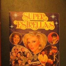 Coleccionismo Álbumes: SUPER ESTRELLAS LISEL. Lote 142986162