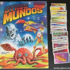 Coleccionismo Álbumes: ALBUM OTROS MUNDOS; MAGA - CON 102 CROMOS (47 CROMOS PEGADOS EN EL ALBUM + 55 SUELTOS). Lote 143231018