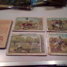 Coleccionismo Álbumes: CROMOS DE FUTBOL.. Lote 143660194