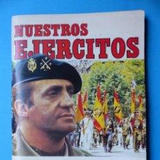 Coleccionismo Álbumes: NUESTROS EJERCITOS - ED. RUIZ ROMERO - AÑO 1982 - FALTAN 75 CROMOS, VER DESCRIPCION Y FOTOS. Lote 143706542