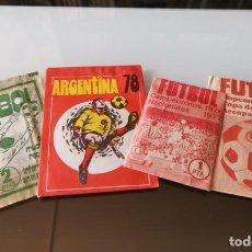 Coleccionismo Álbumes: LOTE SOBRES DE CROMOS FÚTBOL SIN ABRIR NO PANRICO DISGRA FHER RUÍZ ROMERO LIGA ESTE. Lote 143882410