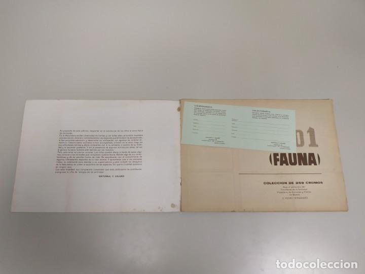 Coleccionismo Álbumes: J- ALBUM DE CROMOS OBSEQUIO MODULO 1 FAUNA EDITORIAL VALERO AÑO 1970 INCOMPLETO - Foto 2 - 144030966
