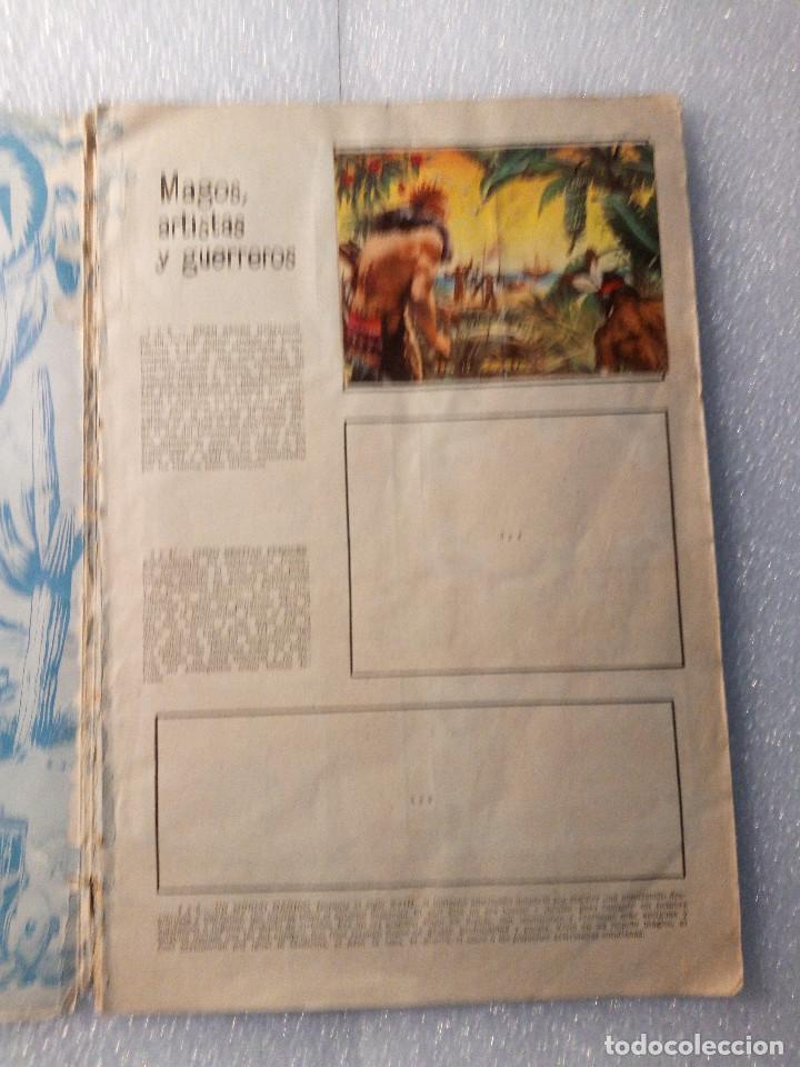 Coleccionismo Álbumes: ALBUM LEJANO OESTE. NUMERO 2. EDITORIAL RUIZ ROMERO con mas o menos la mitad de los cromos - Foto 3 - 144149550