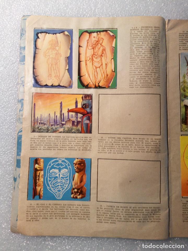 Coleccionismo Álbumes: ALBUM LEJANO OESTE. NUMERO 2. EDITORIAL RUIZ ROMERO con mas o menos la mitad de los cromos - Foto 4 - 144149550