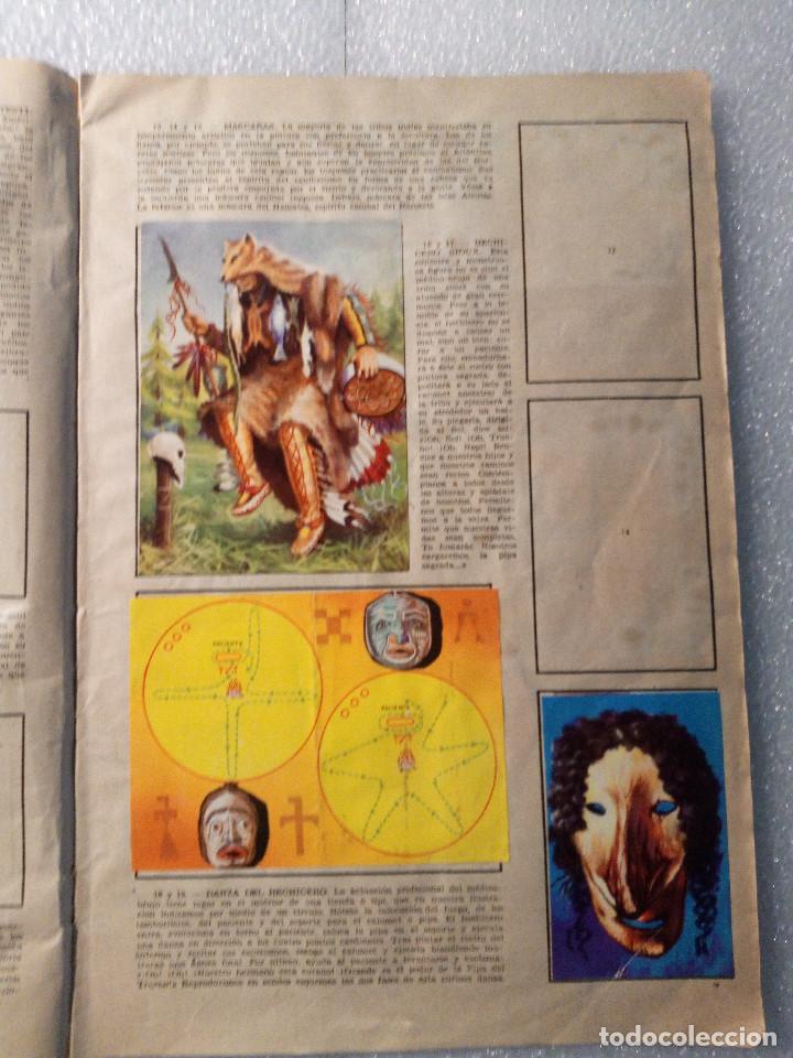 Coleccionismo Álbumes: ALBUM LEJANO OESTE. NUMERO 2. EDITORIAL RUIZ ROMERO con mas o menos la mitad de los cromos - Foto 5 - 144149550