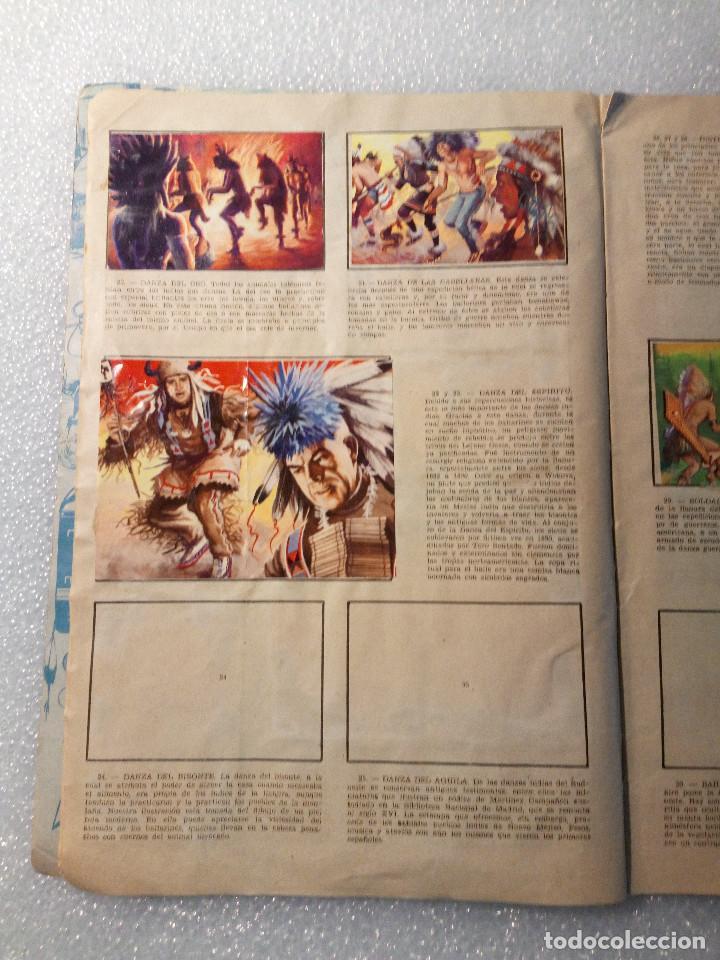 Coleccionismo Álbumes: ALBUM LEJANO OESTE. NUMERO 2. EDITORIAL RUIZ ROMERO con mas o menos la mitad de los cromos - Foto 6 - 144149550