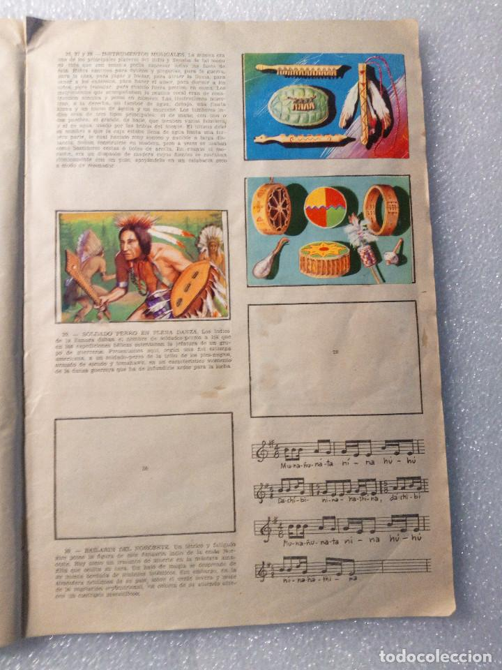 Coleccionismo Álbumes: ALBUM LEJANO OESTE. NUMERO 2. EDITORIAL RUIZ ROMERO con mas o menos la mitad de los cromos - Foto 7 - 144149550
