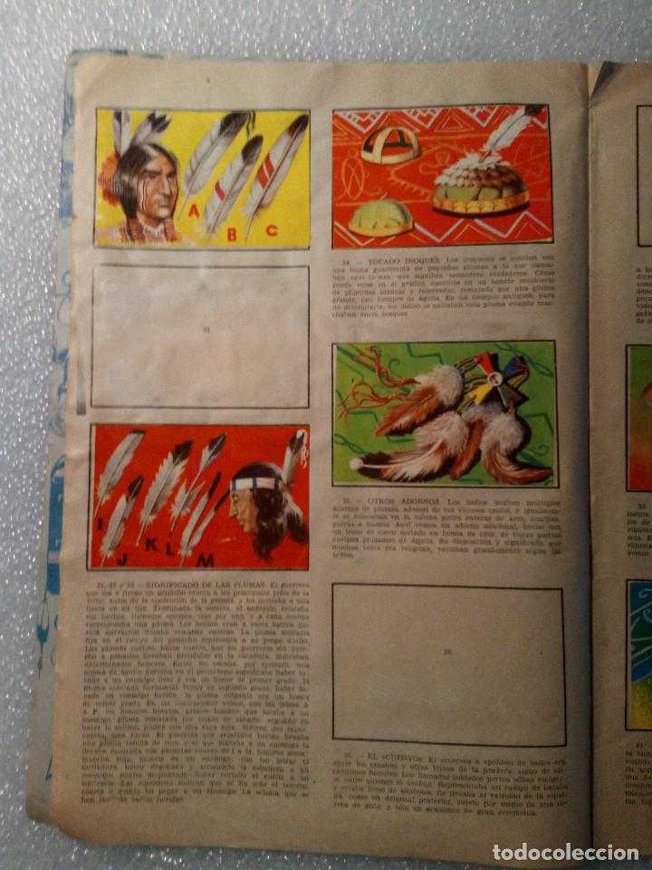 Coleccionismo Álbumes: ALBUM LEJANO OESTE. NUMERO 2. EDITORIAL RUIZ ROMERO con mas o menos la mitad de los cromos - Foto 8 - 144149550