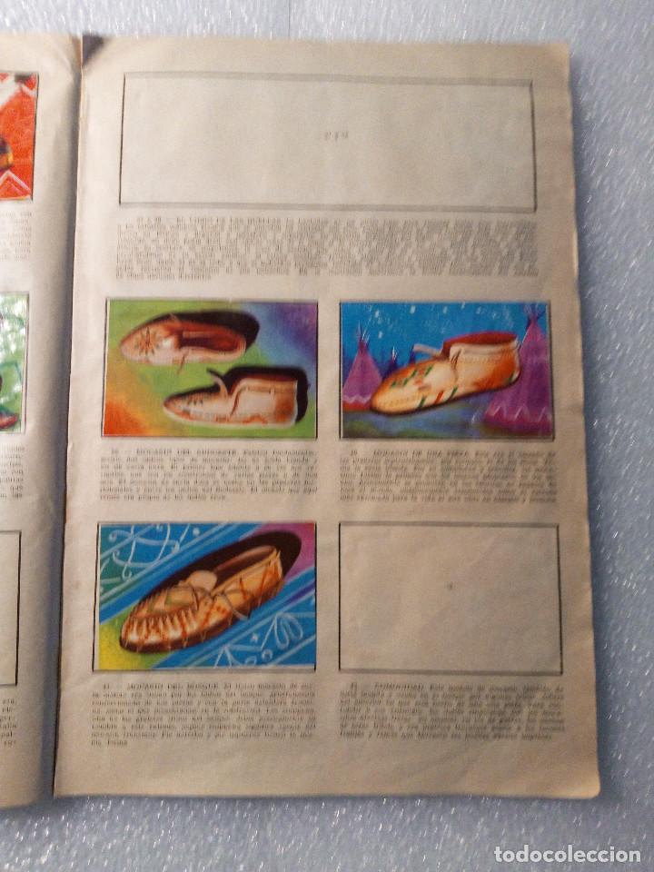 Coleccionismo Álbumes: ALBUM LEJANO OESTE. NUMERO 2. EDITORIAL RUIZ ROMERO con mas o menos la mitad de los cromos - Foto 9 - 144149550