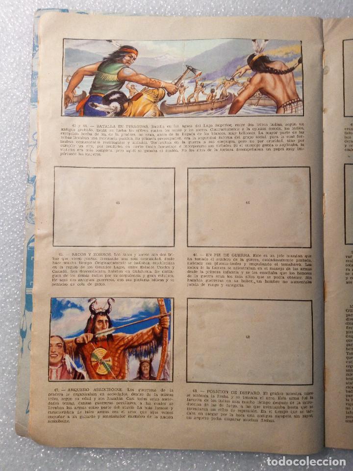 Coleccionismo Álbumes: ALBUM LEJANO OESTE. NUMERO 2. EDITORIAL RUIZ ROMERO con mas o menos la mitad de los cromos - Foto 10 - 144149550