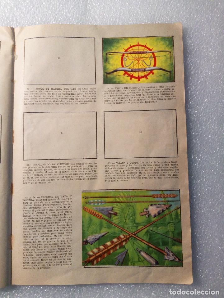 Coleccionismo Álbumes: ALBUM LEJANO OESTE. NUMERO 2. EDITORIAL RUIZ ROMERO con mas o menos la mitad de los cromos - Foto 11 - 144149550