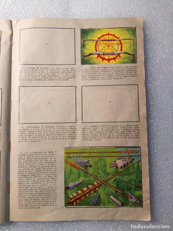 Coleccionismo Álbumes: ALBUM LEJANO OESTE. NUMERO 2. EDITORIAL RUIZ ROMERO con mas o menos la mitad de los cromos - Foto 12 - 144149550