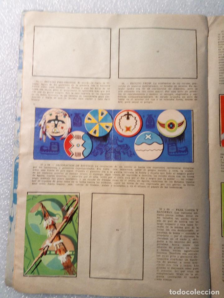 Coleccionismo Álbumes: ALBUM LEJANO OESTE. NUMERO 2. EDITORIAL RUIZ ROMERO con mas o menos la mitad de los cromos - Foto 13 - 144149550