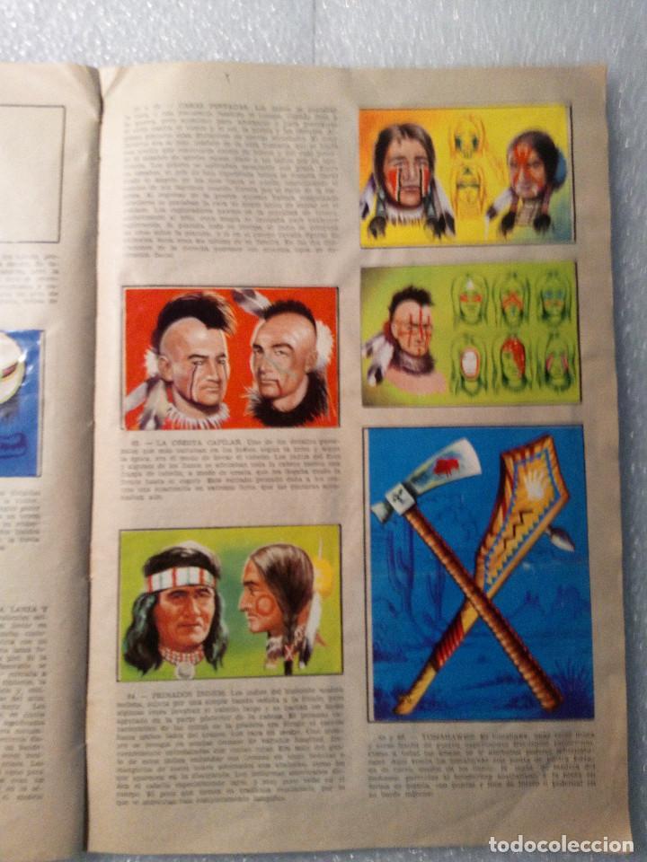 Coleccionismo Álbumes: ALBUM LEJANO OESTE. NUMERO 2. EDITORIAL RUIZ ROMERO con mas o menos la mitad de los cromos - Foto 14 - 144149550