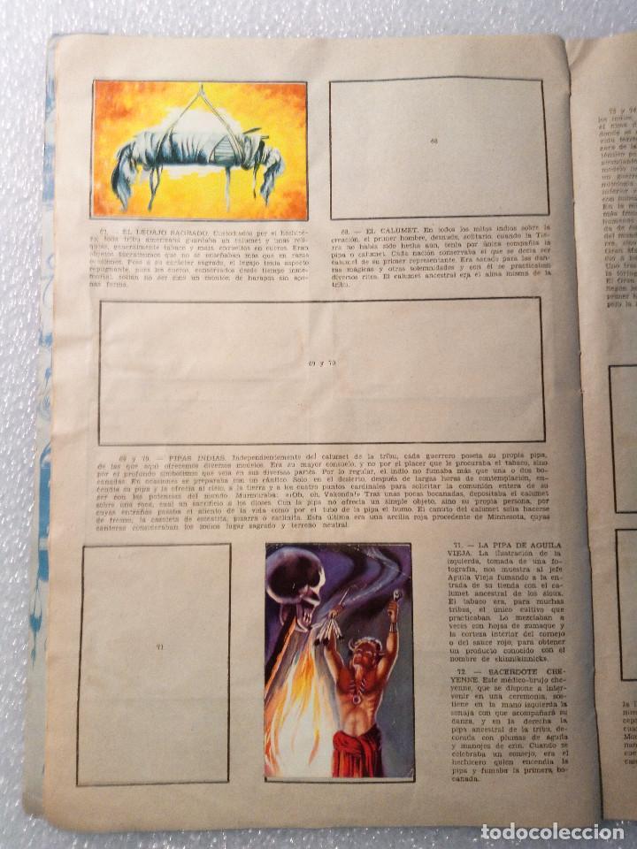 Coleccionismo Álbumes: ALBUM LEJANO OESTE. NUMERO 2. EDITORIAL RUIZ ROMERO con mas o menos la mitad de los cromos - Foto 15 - 144149550