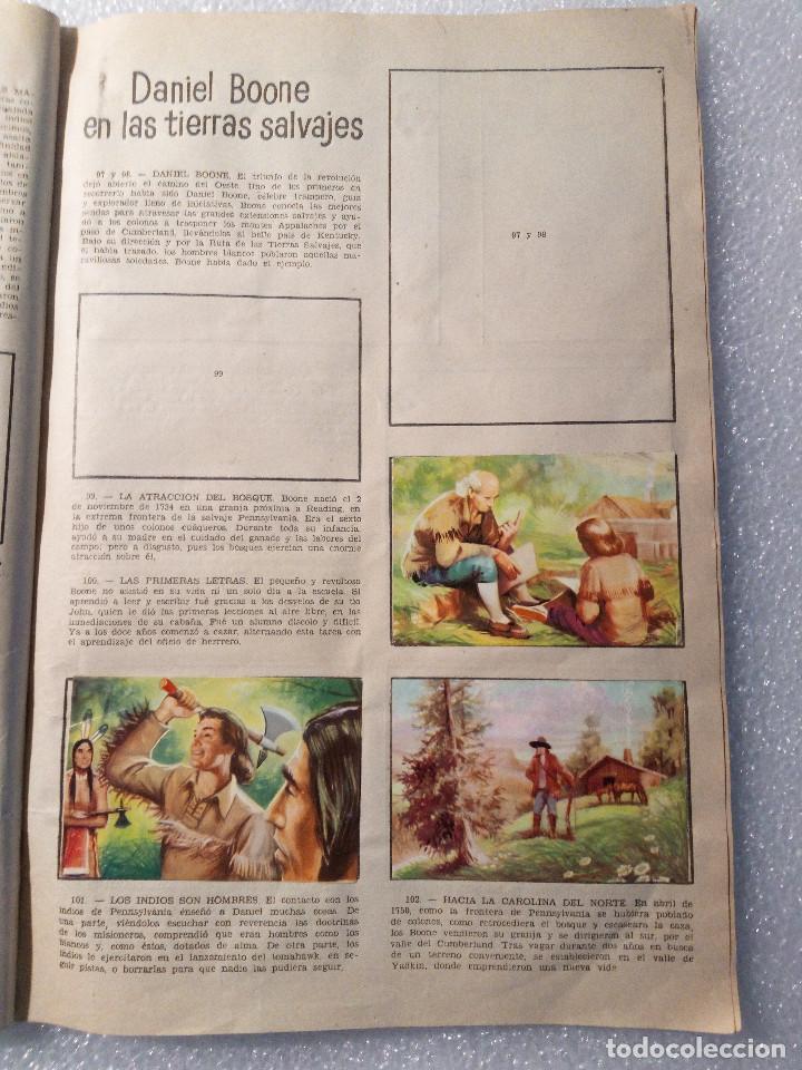 Coleccionismo Álbumes: ALBUM LEJANO OESTE. NUMERO 2. EDITORIAL RUIZ ROMERO con mas o menos la mitad de los cromos - Foto 20 - 144149550