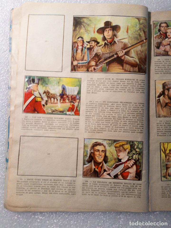 Coleccionismo Álbumes: ALBUM LEJANO OESTE. NUMERO 2. EDITORIAL RUIZ ROMERO con mas o menos la mitad de los cromos - Foto 21 - 144149550