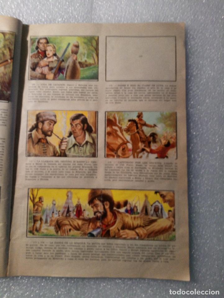Coleccionismo Álbumes: ALBUM LEJANO OESTE. NUMERO 2. EDITORIAL RUIZ ROMERO con mas o menos la mitad de los cromos - Foto 23 - 144149550