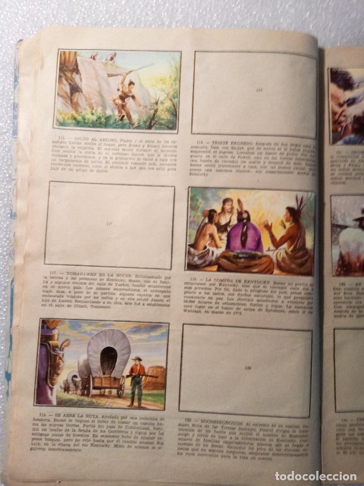 Coleccionismo Álbumes: ALBUM LEJANO OESTE. NUMERO 2. EDITORIAL RUIZ ROMERO con mas o menos la mitad de los cromos - Foto 24 - 144149550
