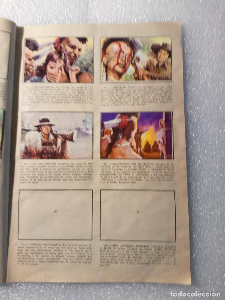 Coleccionismo Álbumes: ALBUM LEJANO OESTE. NUMERO 2. EDITORIAL RUIZ ROMERO con mas o menos la mitad de los cromos - Foto 25 - 144149550