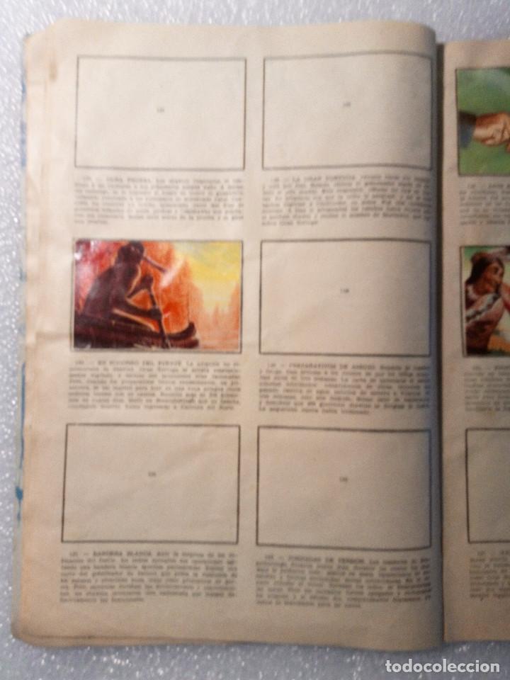 Coleccionismo Álbumes: ALBUM LEJANO OESTE. NUMERO 2. EDITORIAL RUIZ ROMERO con mas o menos la mitad de los cromos - Foto 26 - 144149550