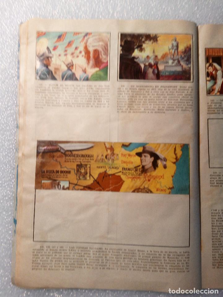 Coleccionismo Álbumes: ALBUM LEJANO OESTE. NUMERO 2. EDITORIAL RUIZ ROMERO con mas o menos la mitad de los cromos - Foto 28 - 144149550