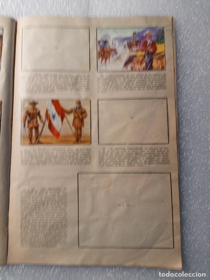 Coleccionismo Álbumes: ALBUM LEJANO OESTE. NUMERO 2. EDITORIAL RUIZ ROMERO con mas o menos la mitad de los cromos - Foto 31 - 144149550