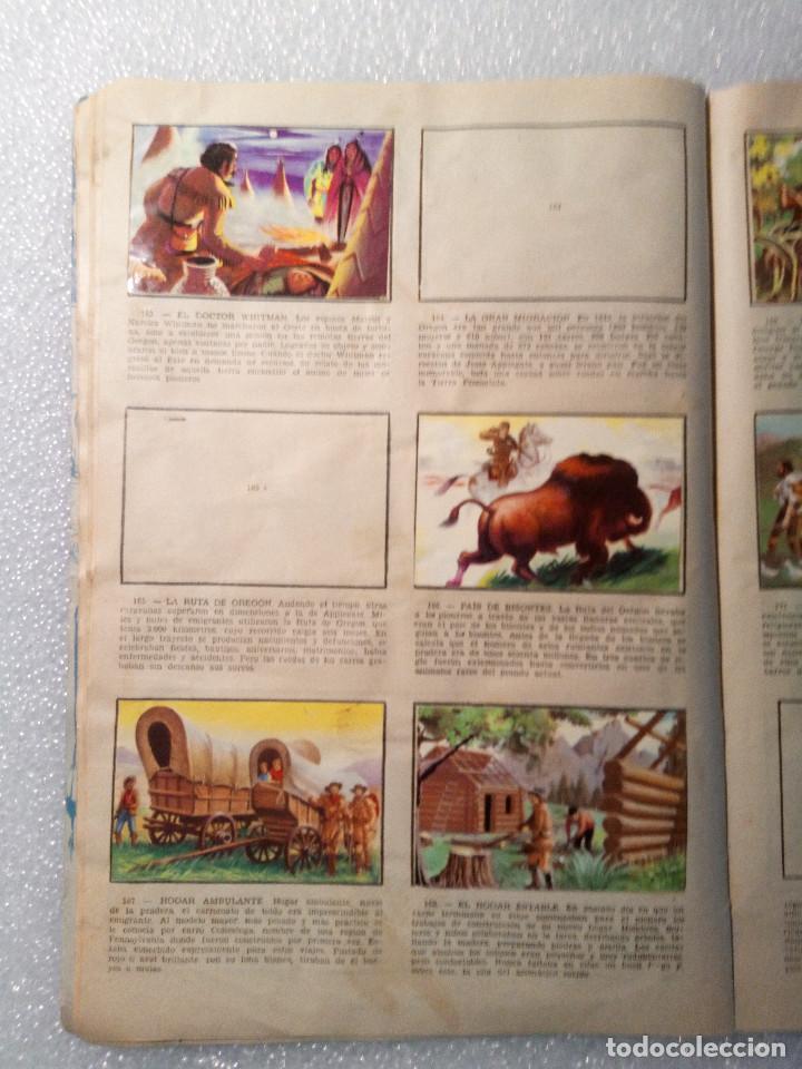 Coleccionismo Álbumes: ALBUM LEJANO OESTE. NUMERO 2. EDITORIAL RUIZ ROMERO con mas o menos la mitad de los cromos - Foto 32 - 144149550