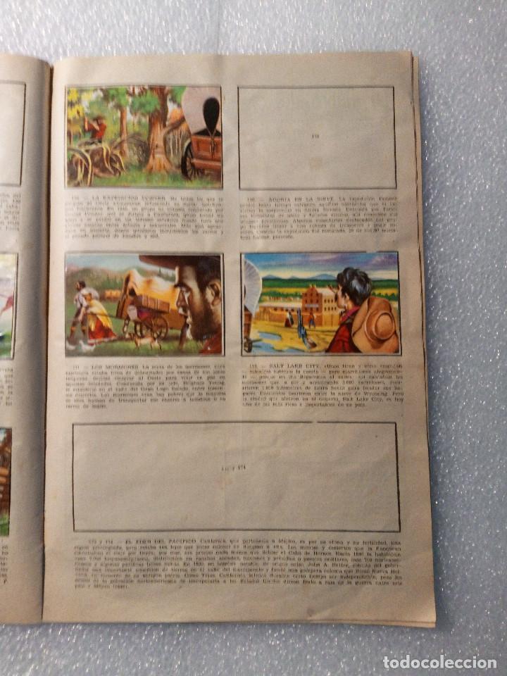 Coleccionismo Álbumes: ALBUM LEJANO OESTE. NUMERO 2. EDITORIAL RUIZ ROMERO con mas o menos la mitad de los cromos - Foto 33 - 144149550