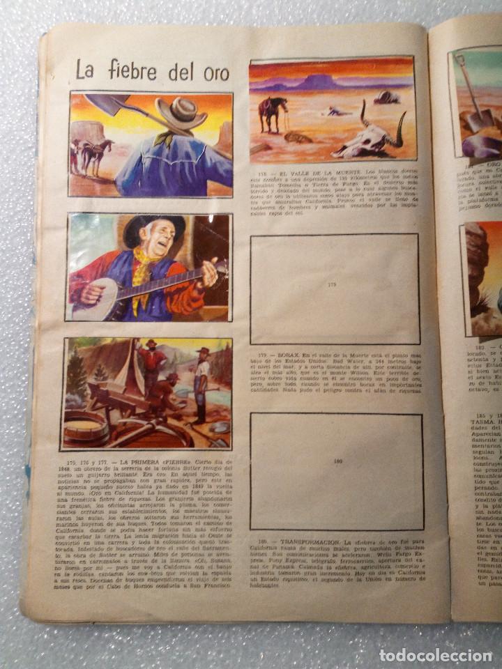 Coleccionismo Álbumes: ALBUM LEJANO OESTE. NUMERO 2. EDITORIAL RUIZ ROMERO con mas o menos la mitad de los cromos - Foto 34 - 144149550