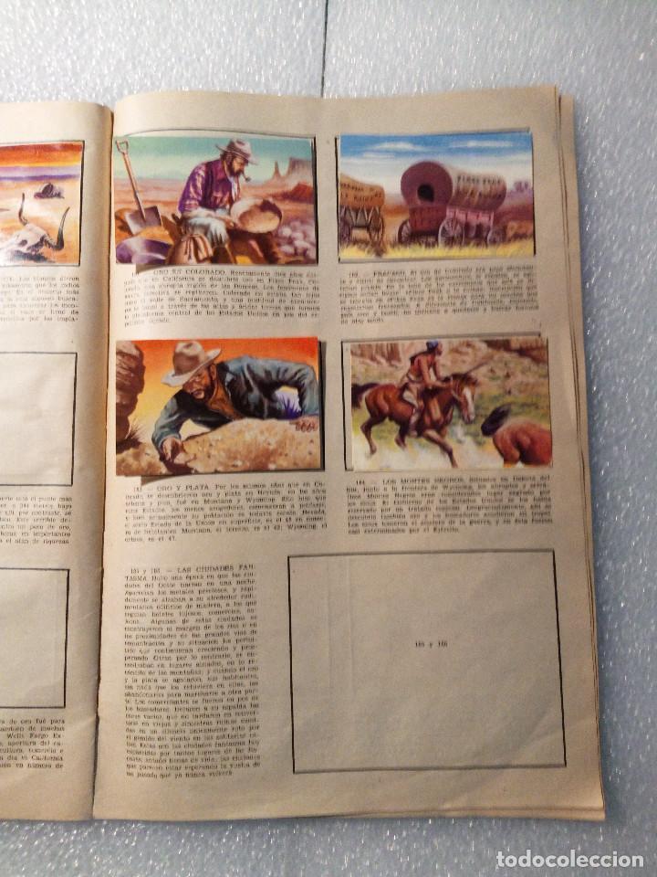 Coleccionismo Álbumes: ALBUM LEJANO OESTE. NUMERO 2. EDITORIAL RUIZ ROMERO con mas o menos la mitad de los cromos - Foto 35 - 144149550