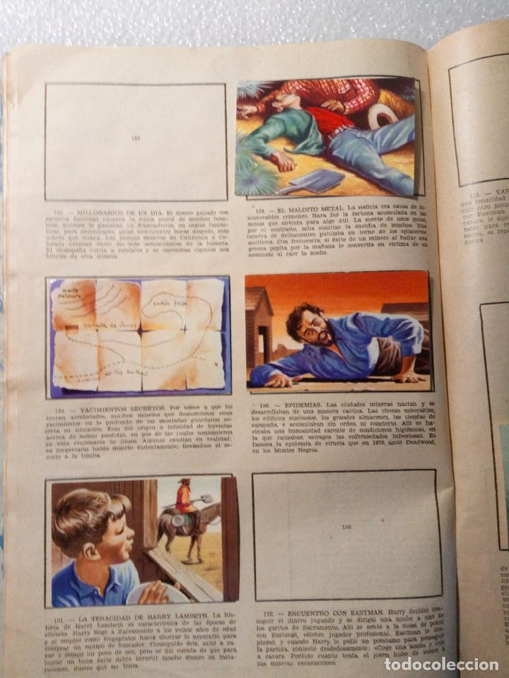 Coleccionismo Álbumes: ALBUM LEJANO OESTE. NUMERO 2. EDITORIAL RUIZ ROMERO con mas o menos la mitad de los cromos - Foto 36 - 144149550