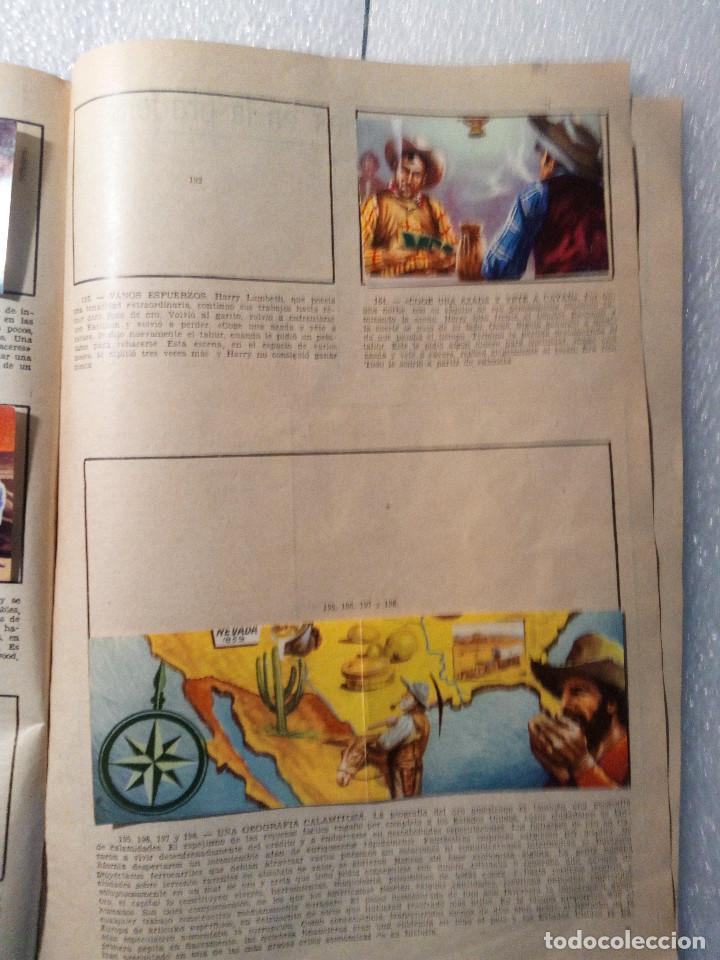Coleccionismo Álbumes: ALBUM LEJANO OESTE. NUMERO 2. EDITORIAL RUIZ ROMERO con mas o menos la mitad de los cromos - Foto 37 - 144149550