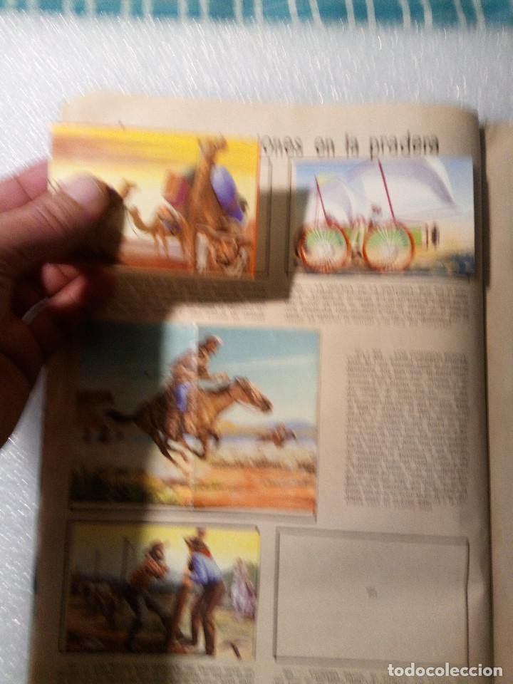 Coleccionismo Álbumes: ALBUM LEJANO OESTE. NUMERO 2. EDITORIAL RUIZ ROMERO con mas o menos la mitad de los cromos - Foto 39 - 144149550
