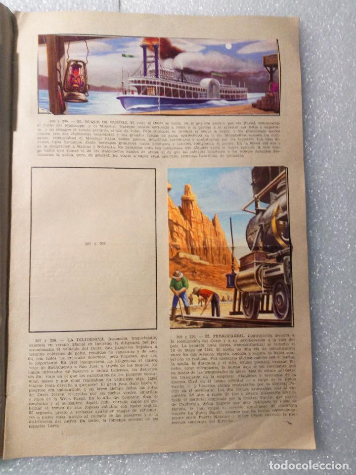 Coleccionismo Álbumes: ALBUM LEJANO OESTE. NUMERO 2. EDITORIAL RUIZ ROMERO con mas o menos la mitad de los cromos - Foto 40 - 144149550