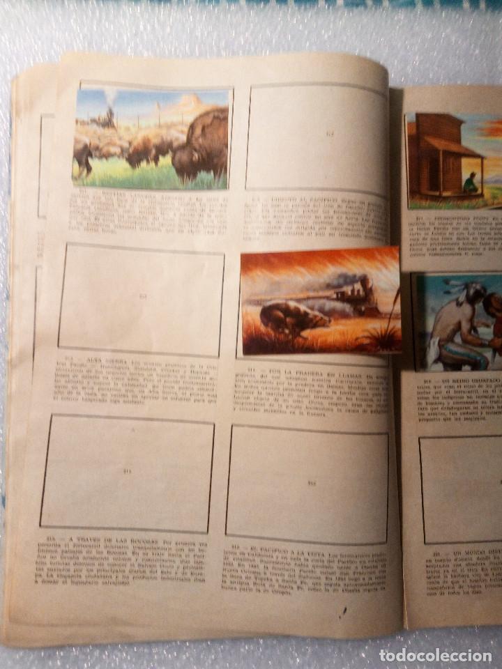 Coleccionismo Álbumes: ALBUM LEJANO OESTE. NUMERO 2. EDITORIAL RUIZ ROMERO con mas o menos la mitad de los cromos - Foto 41 - 144149550