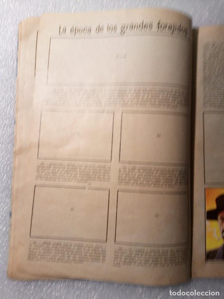 Coleccionismo Álbumes: ALBUM LEJANO OESTE. NUMERO 2. EDITORIAL RUIZ ROMERO con mas o menos la mitad de los cromos - Foto 43 - 144149550