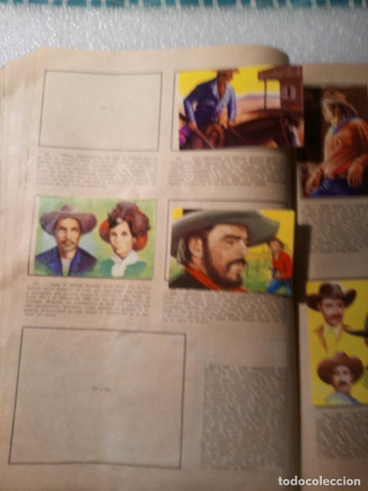 Coleccionismo Álbumes: ALBUM LEJANO OESTE. NUMERO 2. EDITORIAL RUIZ ROMERO con mas o menos la mitad de los cromos - Foto 45 - 144149550