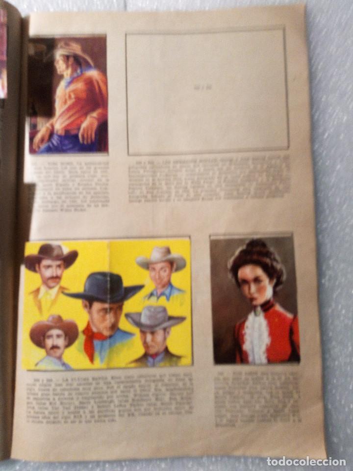 Coleccionismo Álbumes: ALBUM LEJANO OESTE. NUMERO 2. EDITORIAL RUIZ ROMERO con mas o menos la mitad de los cromos - Foto 46 - 144149550
