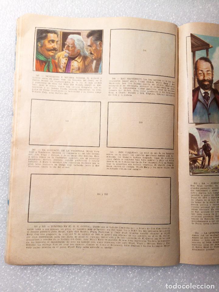 Coleccionismo Álbumes: ALBUM LEJANO OESTE. NUMERO 2. EDITORIAL RUIZ ROMERO con mas o menos la mitad de los cromos - Foto 47 - 144149550