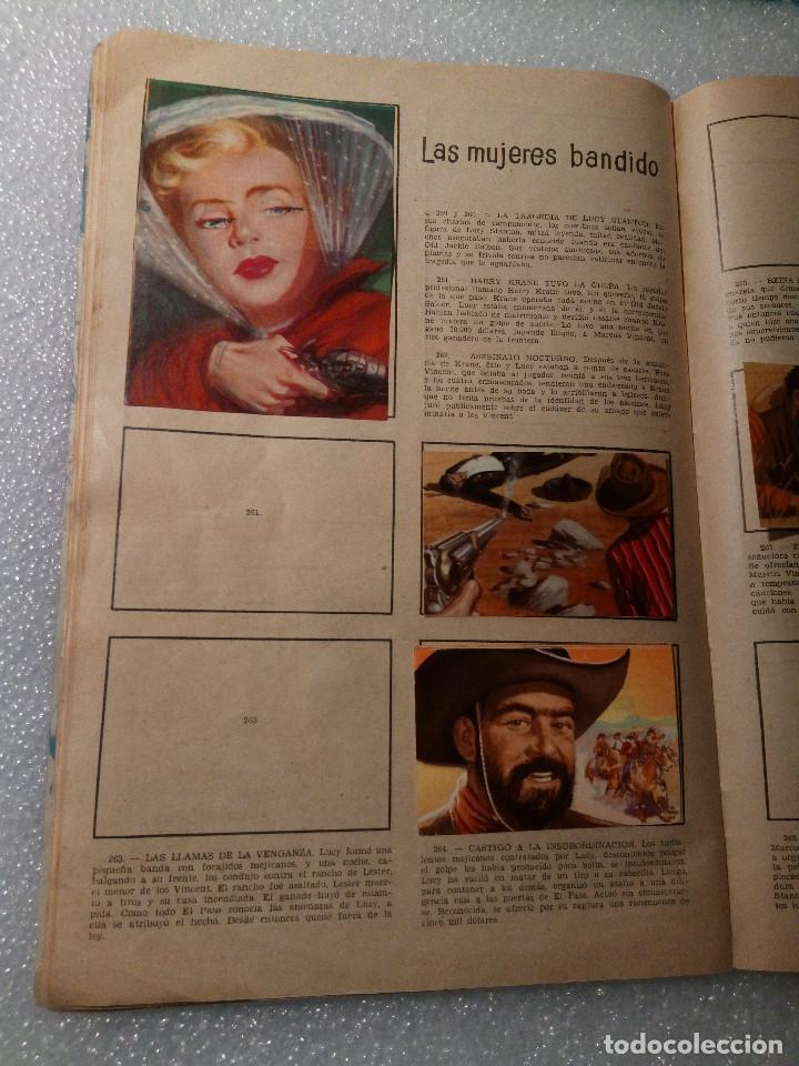 Coleccionismo Álbumes: ALBUM LEJANO OESTE. NUMERO 2. EDITORIAL RUIZ ROMERO con mas o menos la mitad de los cromos - Foto 49 - 144149550