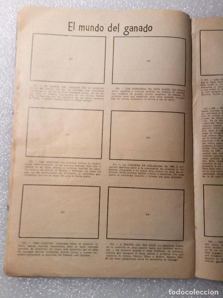 Coleccionismo Álbumes: ALBUM LEJANO OESTE. NUMERO 2. EDITORIAL RUIZ ROMERO con mas o menos la mitad de los cromos - Foto 51 - 144149550