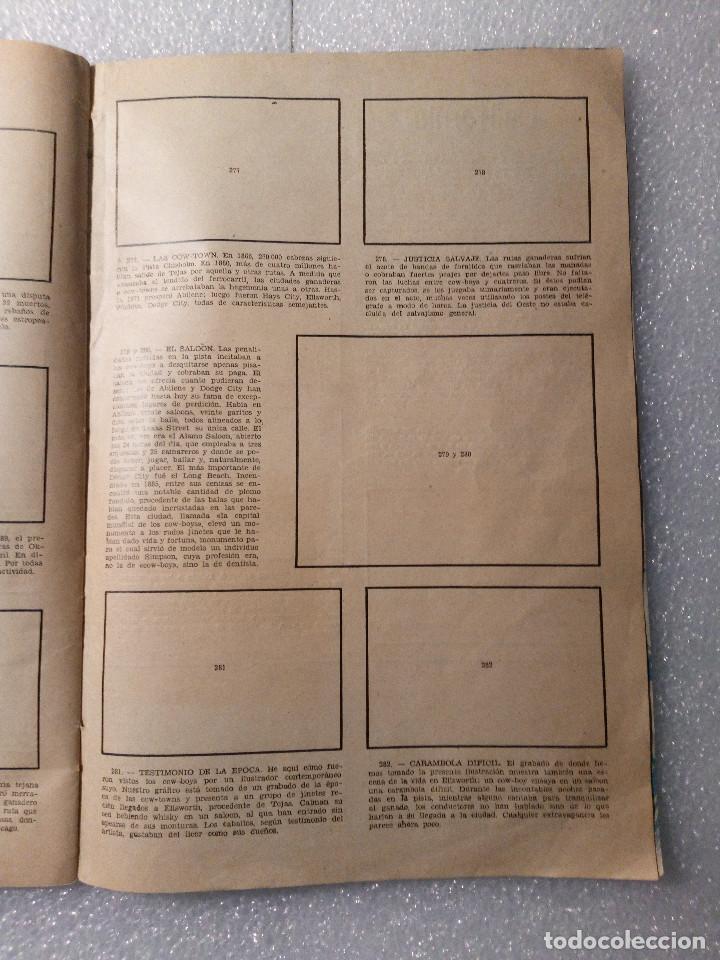 Coleccionismo Álbumes: ALBUM LEJANO OESTE. NUMERO 2. EDITORIAL RUIZ ROMERO con mas o menos la mitad de los cromos - Foto 52 - 144149550