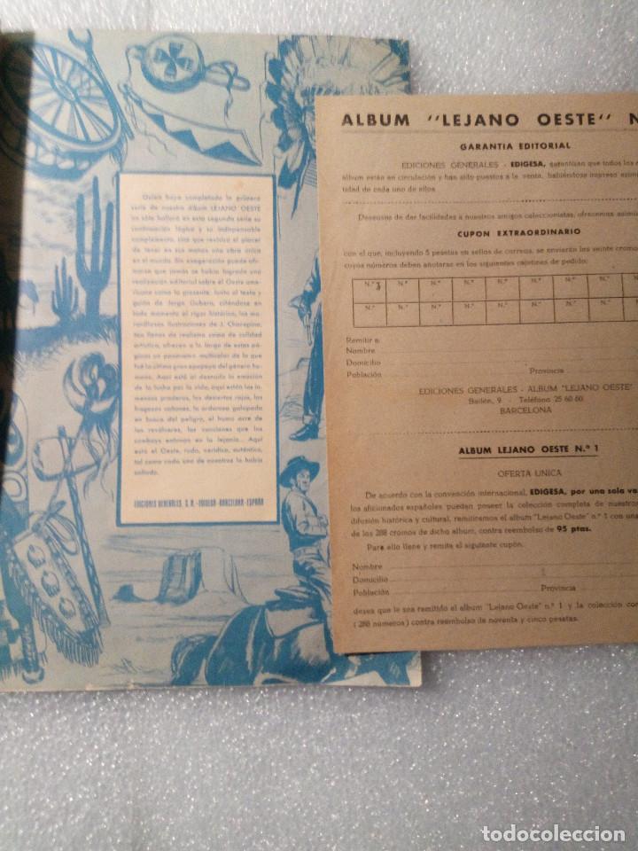Coleccionismo Álbumes: ALBUM LEJANO OESTE. NUMERO 2. EDITORIAL RUIZ ROMERO con mas o menos la mitad de los cromos - Foto 54 - 144149550