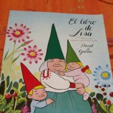 Coleccionismo Álbumes: ALBUM DE DAVID EL GNOMO , EL LIBRO DE LISA. Lote 144161256