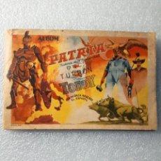 Coleccionismo Álbumes: ULTRA MEGA RARO ALBUM PATRIA TURRON CHOCOLATES TODDY VENEZUELA FALTAN 2 CROMOS DE 350. Lote 144650374